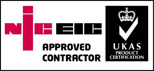 NICEIC Approved Contractor Registered